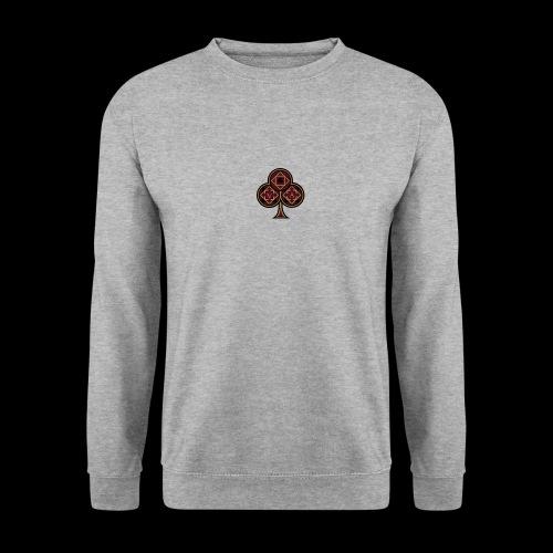 Trèfle royal rouge - Sweat-shirt Unisex