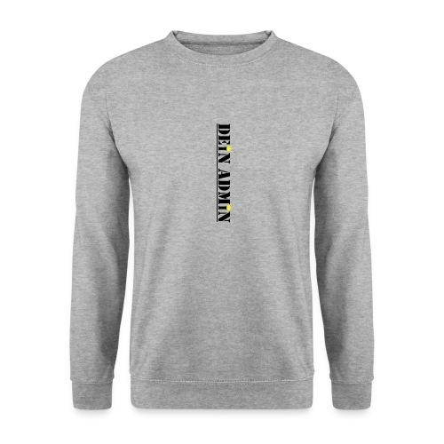 DEIN ADMIN - Motiv (schwarze Schrift) - Männer Pullover