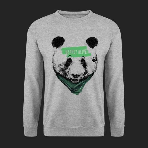 Panda bearly alive - Sweat-shirt Unisex