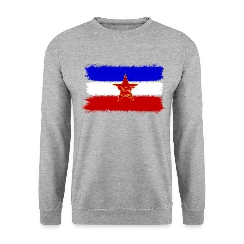 Jugoslawien Flagge - Männer Pullover