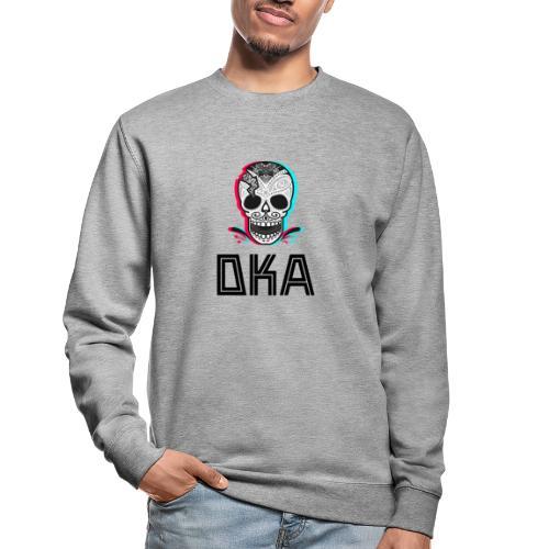 DKA - logo alternatywne - Bluza unisex