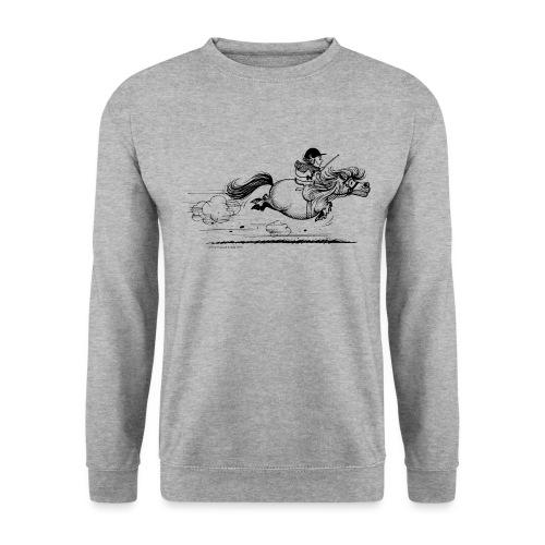 PonySprint Thelwell Cartoon - Unisex Sweatshirt