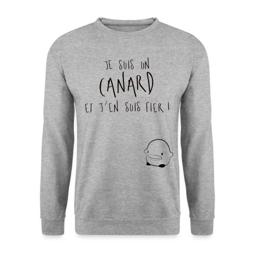 1_Sweatshirt_JesuisunCana - Sweat-shirt Homme