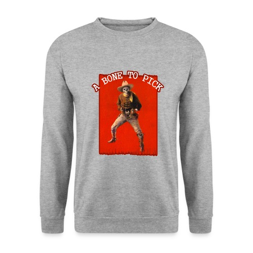 Vintage Skeleton Outlaw Cowboy - Men's Sweatshirt