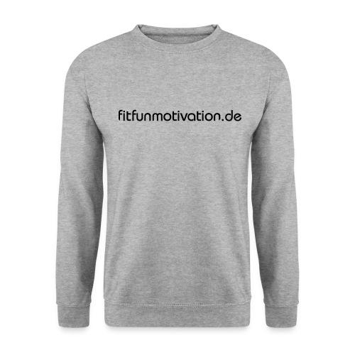 ffm schriftzug - Männer Pullover