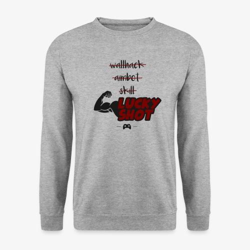 lucky shot - Sweat-shirt Unisexe