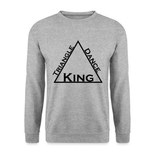Triangle Dreieck Dance Tanz King König - Männer Pullover