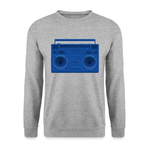 Bestes Stereo blau Design online - Unisex Pullover