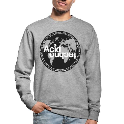 acid techno world - Bluza unisex