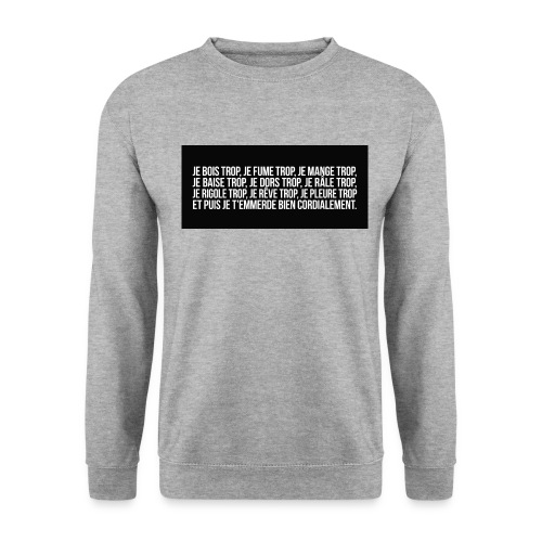 10285254 638741926181229 6106056982775196908 o png - Sweat-shirt Unisexe