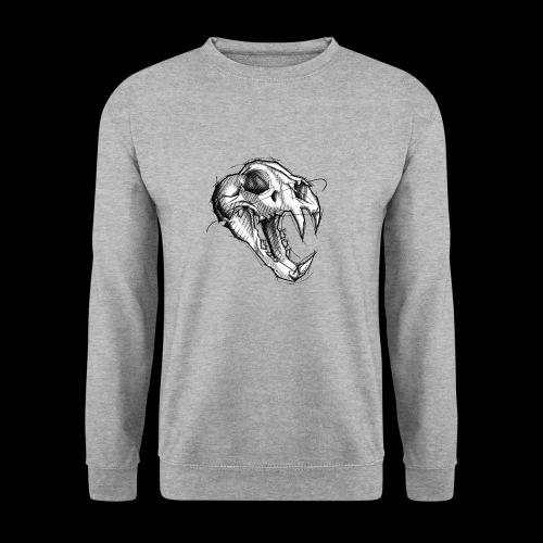 Teschio Tigre - Felpa da uomo