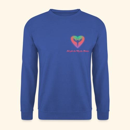 Ich gehe den Weg meines Herzens - Unisex Pullover