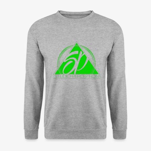 SP LOGO PERCEPTION CLOTHES VERT - Sweat-shirt Unisex