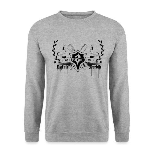 P2C CREW BLASON BLACK - Sweat-shirt Unisexe