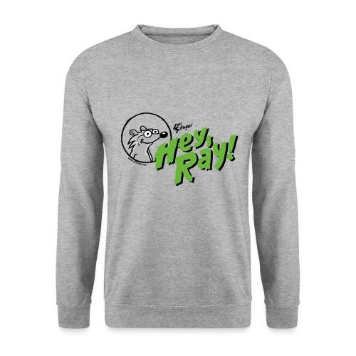 Hey Ray Logo green - Männer Pullover