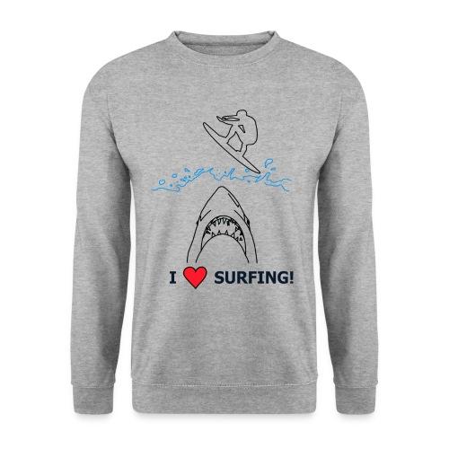 I love Surfing! - Unisex Pullover