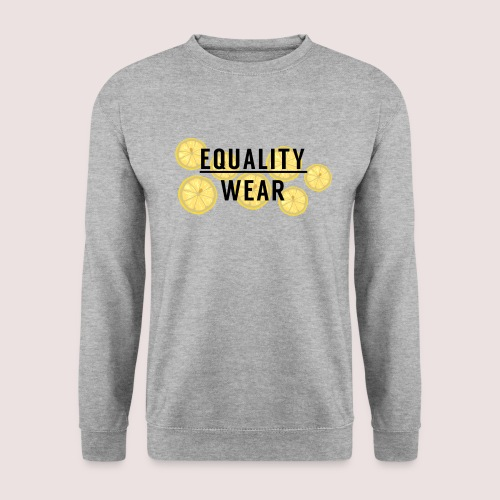 Equality Wear Fresh Lemon Edition - Men's Sweatshirt