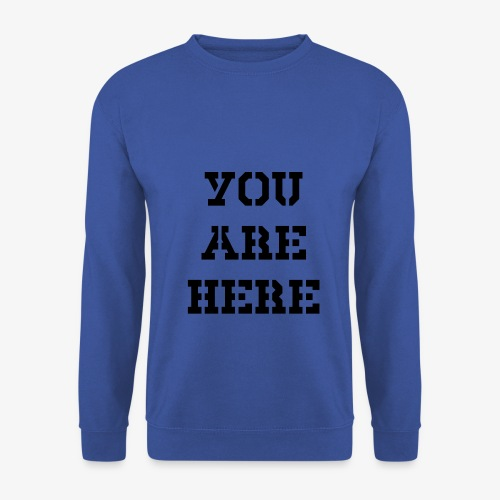 You are here - Männer Pullover
