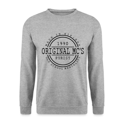 logo original mcs v2 - Sweat-shirt Unisexe