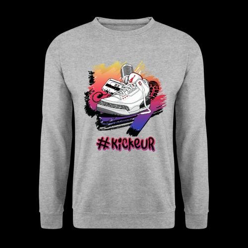 #Kickeur Noir - Sweat-shirt Homme