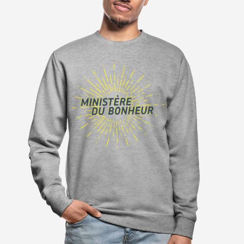 Ministère du Bonheur - Sweat-shirt Unisexe