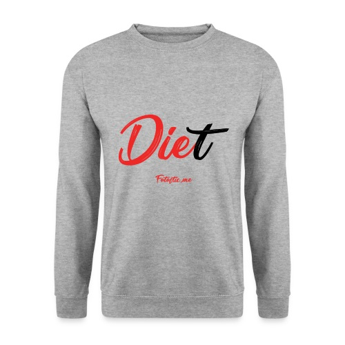 Diet by Fatastic.me - Men's Sweatshirt