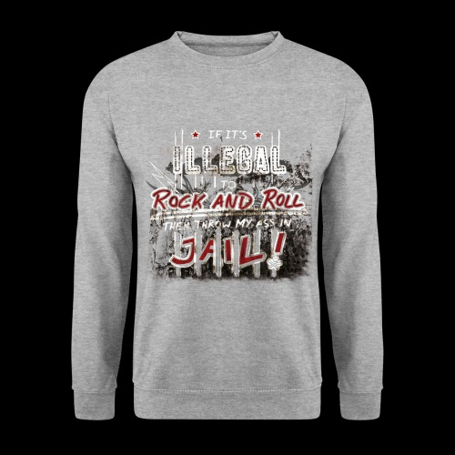 Illegal to Rock and Roll - Männer Pullover