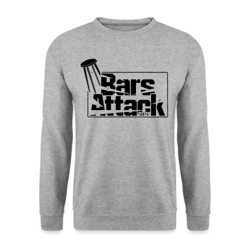 BarsAttack Black Logo - Männer Pullover