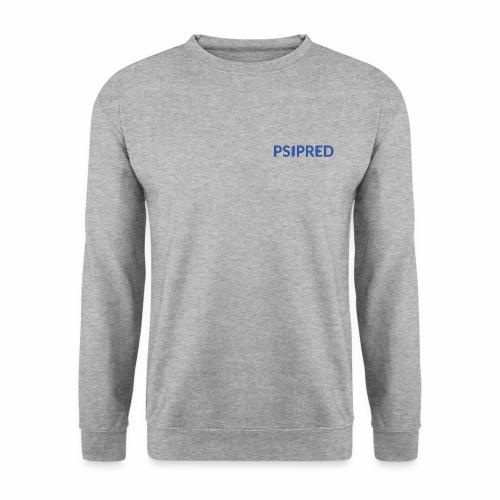 Logo in blue - Men's Sweatshirt