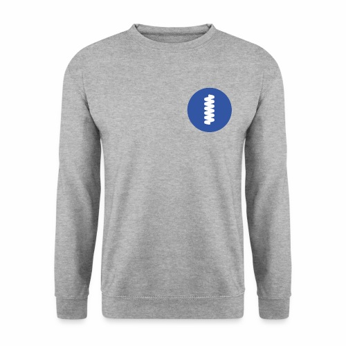 logomark in circular blue - Men's Sweatshirt