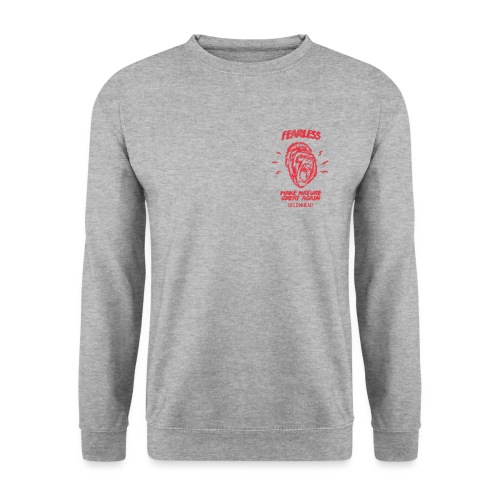 fearless red - Unisex Pullover