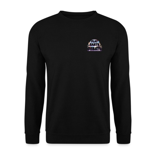 Flat Earth Debate - Men's Sweatshirt