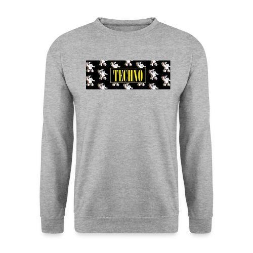 techno - Sweat-shirt Unisexe