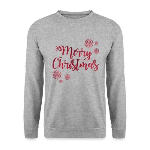 Merry christmas Noël New shape fane design vintage - Sweat-shirt Homme