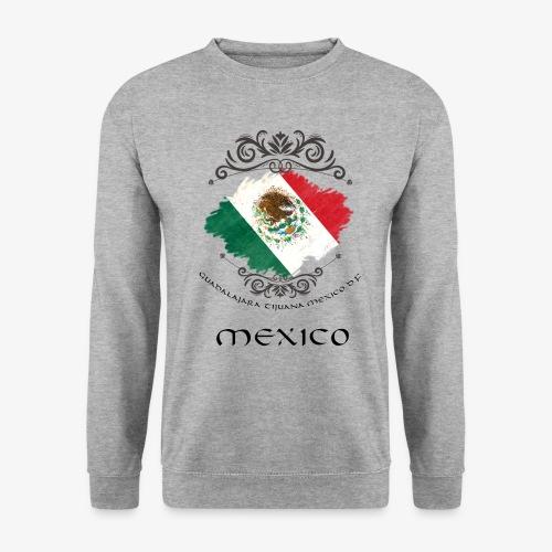 Mexico Vintage Bandera - Unisex Pullover