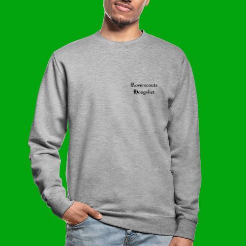 Rover logo en Tekst, Je kan zelf naam toevoegen - Unisex sweater