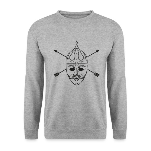 Cuman helmet with arrows - Unisex Sweatshirt