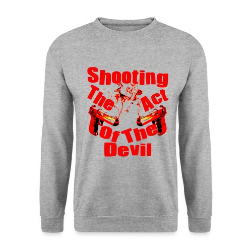 Shooting The Act Of Devil - Sweat-shirt Homme