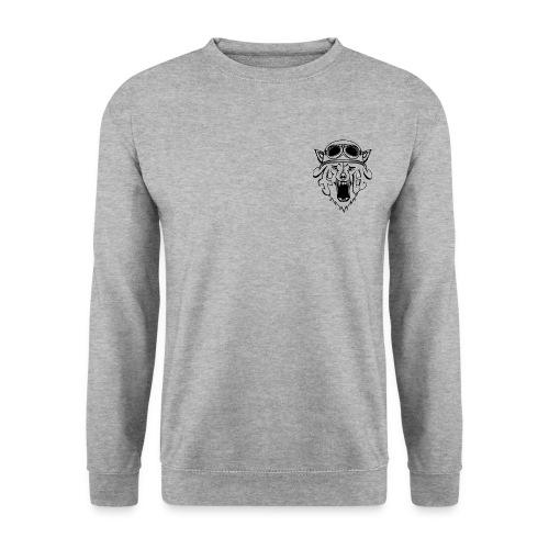 LOGOVETEMENTCONTOUR png - Sweat-shirt Unisex
