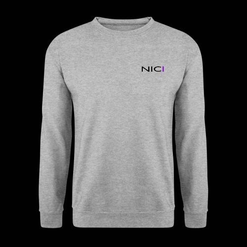 NICI logo Black - Miesten svetaripaita
