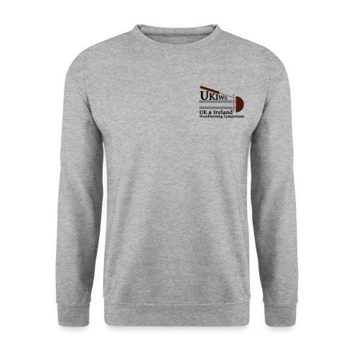 SMALL- NoDate -UKIWS-Logo - Men's Sweatshirt