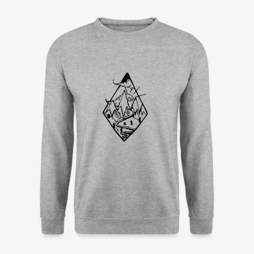 losange cr - Sweat-shirt Unisexe