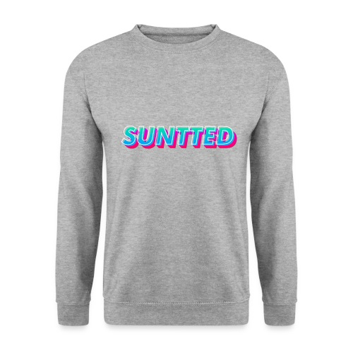 Suntted Typo Modern - Sweat-shirt Homme