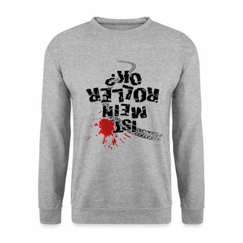 Ist mein Roller ok (schwarzer Text) - Men's Sweatshirt