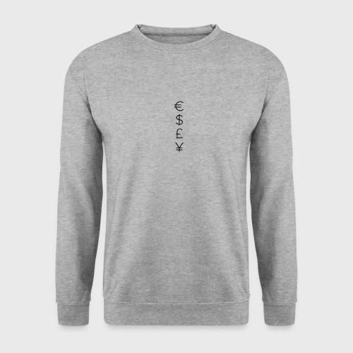 MONEY SIGNS png - Men's Sweatshirt