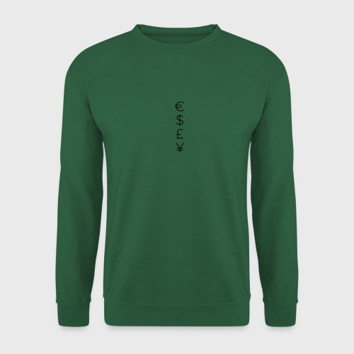 MONEY SIGNS png - Unisex Sweatshirt