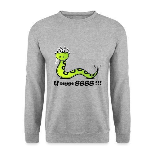 U zegge SSSS !!! - Mannen sweater