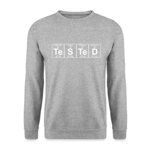 Te-S-Te-D (tested) (small) - Men's Sweatshirt