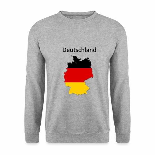 Deutschland Karte - Männer Pullover