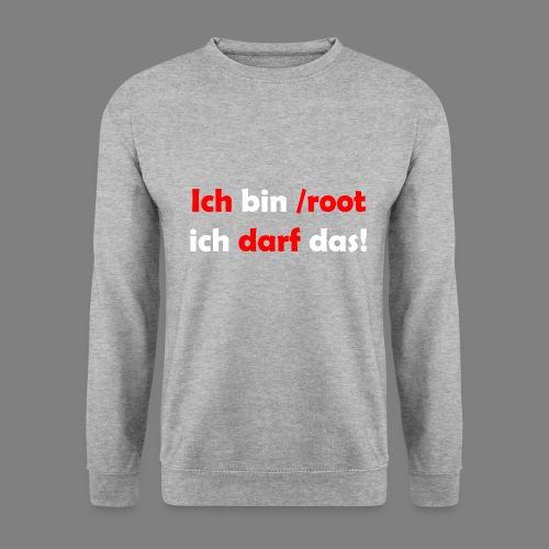 Ich bin root - Unisex Pullover